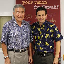 Norman Mizuguchi endorses Senator Schatz