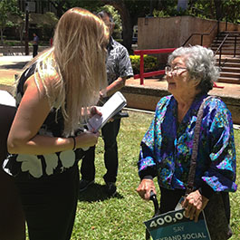 Ruth Miller endorses Senator Schatz
